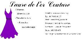 Laure de l'or couture Châtonnay