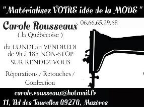 Carole Rousseaux Mazères