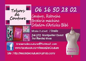 Trésors de Couture / Aubert Marie Montpellier