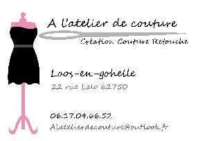 A l'atelier de couture  Loos en Gohelle