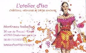 l'atelier d'isa (martineau isabelle) Chalonnes sur Loire