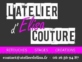 logo ATELIER D'ELISA COUTURE