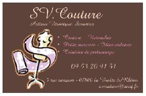 sv.couture La Voulte sur Rhône