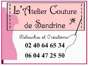 logo l'atelier couture de Sandrine