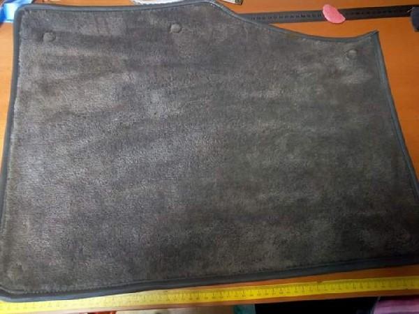 Customisation de tapis. le voici avant