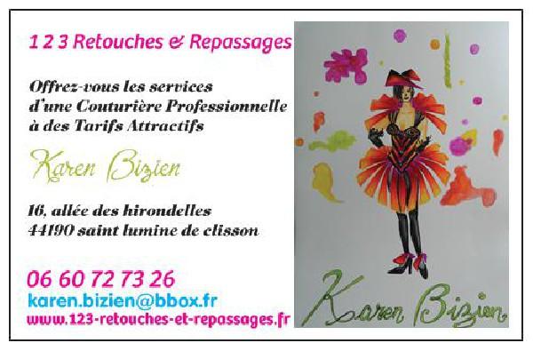 chers Clients voici d&eacute;sormais ma nouvelle carte professionnelle plus personnalis&eacute;e avec mon site internet<br /> www.123-retouches-et-repassages.fr