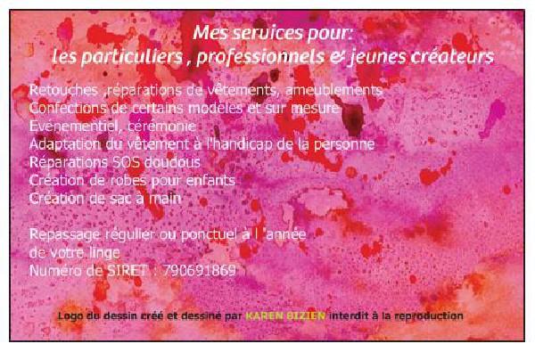 voici d&eacute;sormais ma nouvelle carte professionnelle plus personnalis&eacute;e avec mon site internet<br /> www.123-retouches-et-repassages.fr