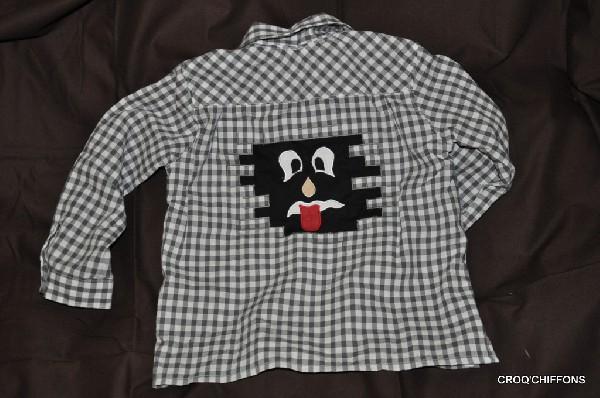 Exemple de chemise gar&ccedil;on manches longues, tout coton<br /> <br /> Autres mod&egrave;les, couleurs et tailles sur commande