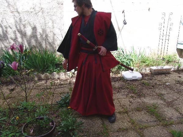 Kimono de samouraï