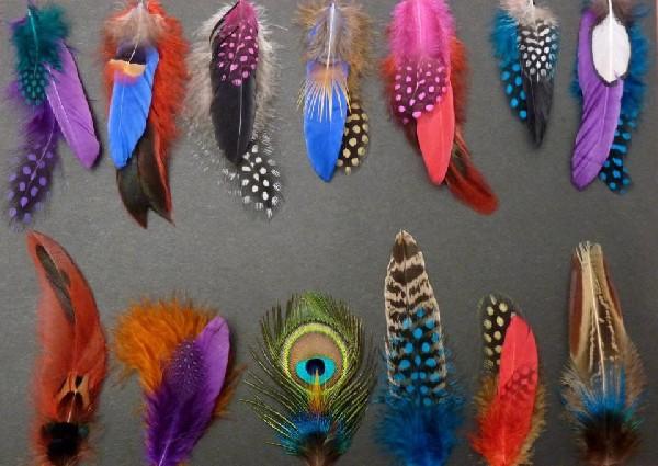 Création de bijoux et accessoire plume