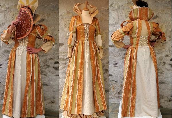 Création et réalisation de costumes d'époque.