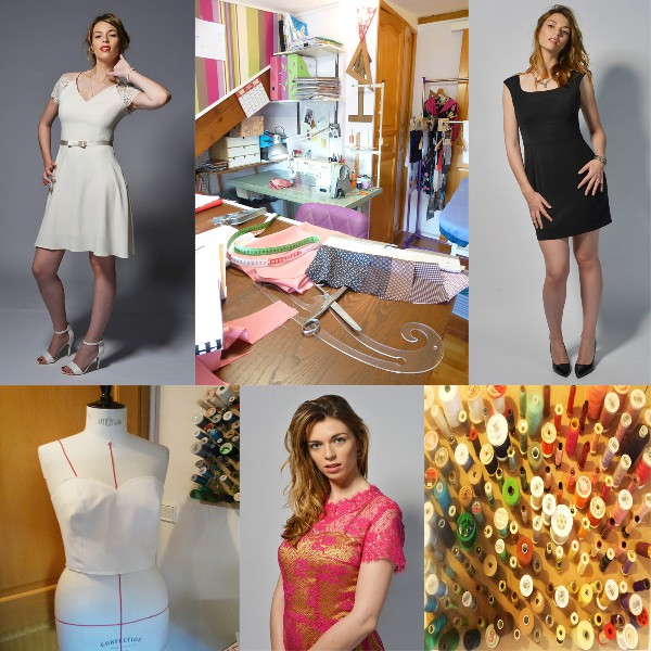 Quelques modèles de la collection 2015 et l'atelier Pomodaria