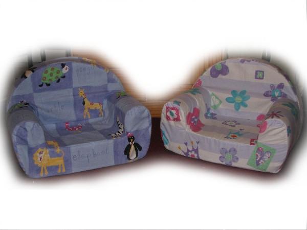 remise à neuf de 2 fauteuils d'enfants