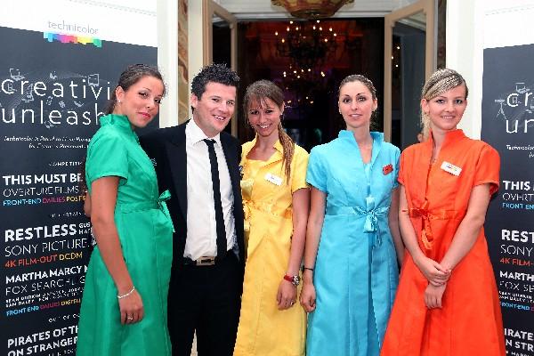 Hotesses Technicolor pour un événement privé au festival de Cannes