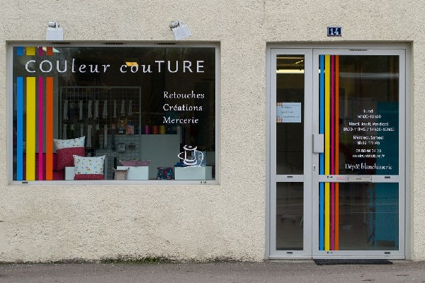 Couleur couture vous accueille à Chevigny-Saint-Sauveur à côté de Dijon (21)