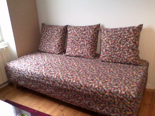 Housse de lit et housses de grands coussins