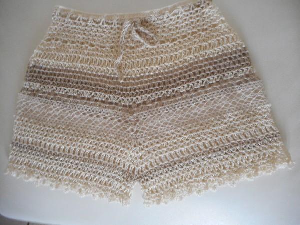 short dentelle et crochet
