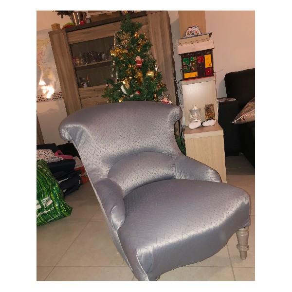 Réfection d'un vieux fauteuil.
