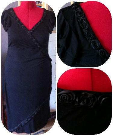 Robe noire sur mesure - juin 2013 - @La Félily